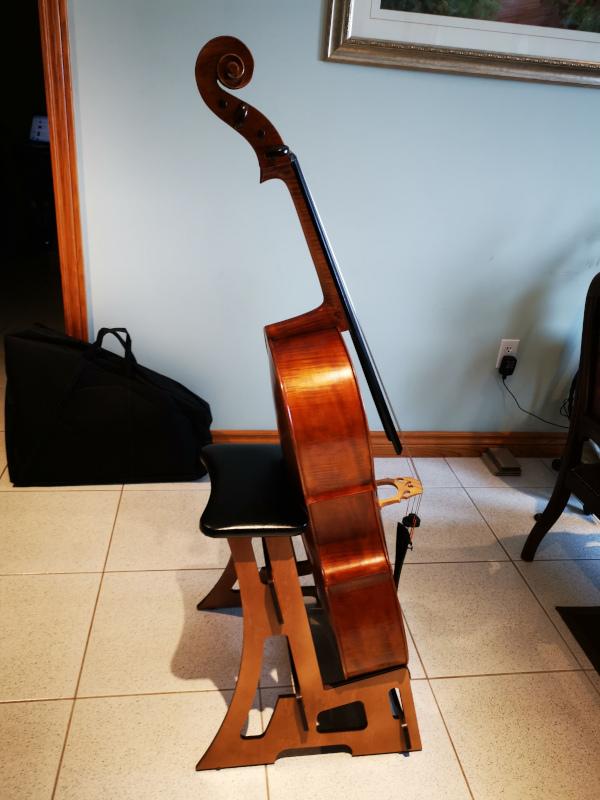 Cello And Double Bass Stand Stool Flocello Hamilton