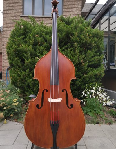 Double Bass, French model 1