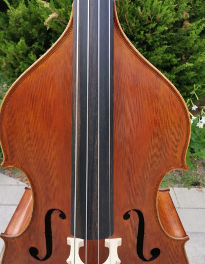 Double Bass, French model 3