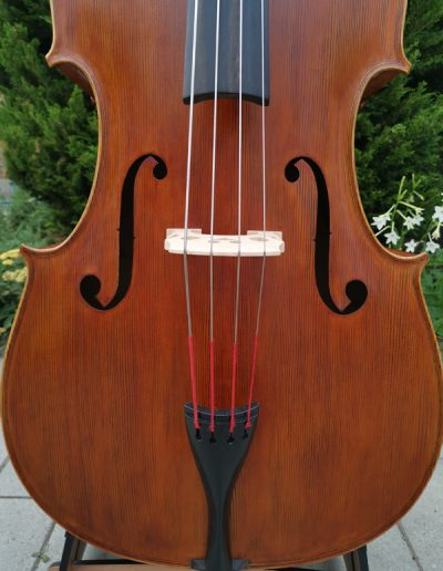 Double Bass, French model 4