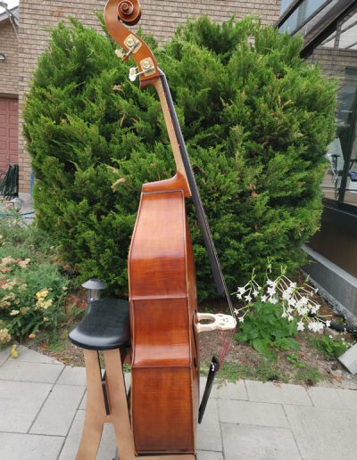 Double Bass, French model 5