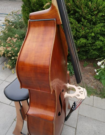 Double Bass, French model 6