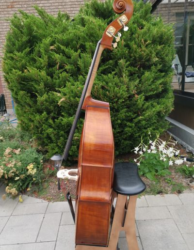 Double Bass, French model 8