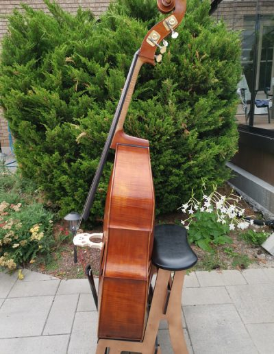 Double Bass, French model 9
